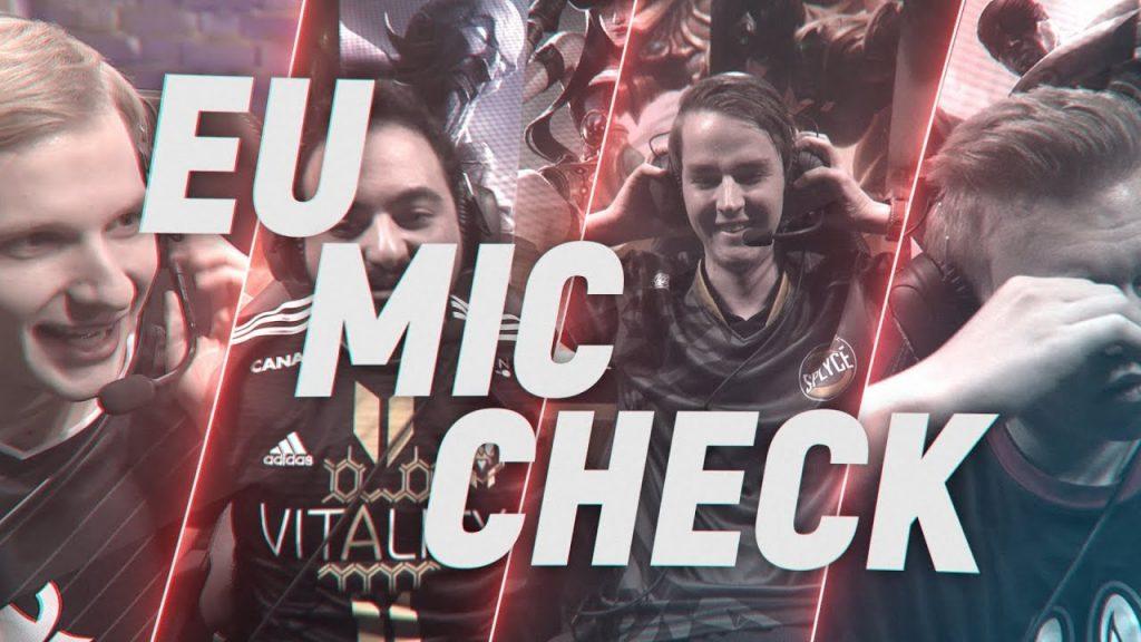 Mic checks: EU LCS Finals