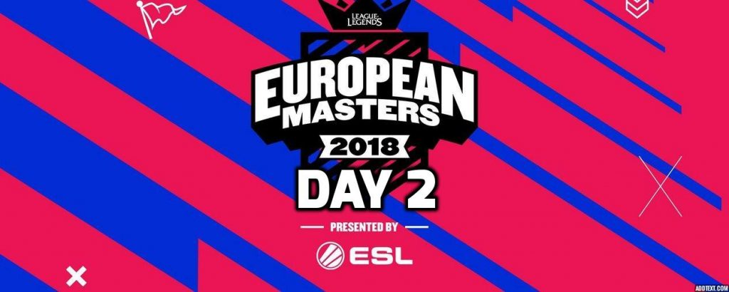 European Masters Day 2
