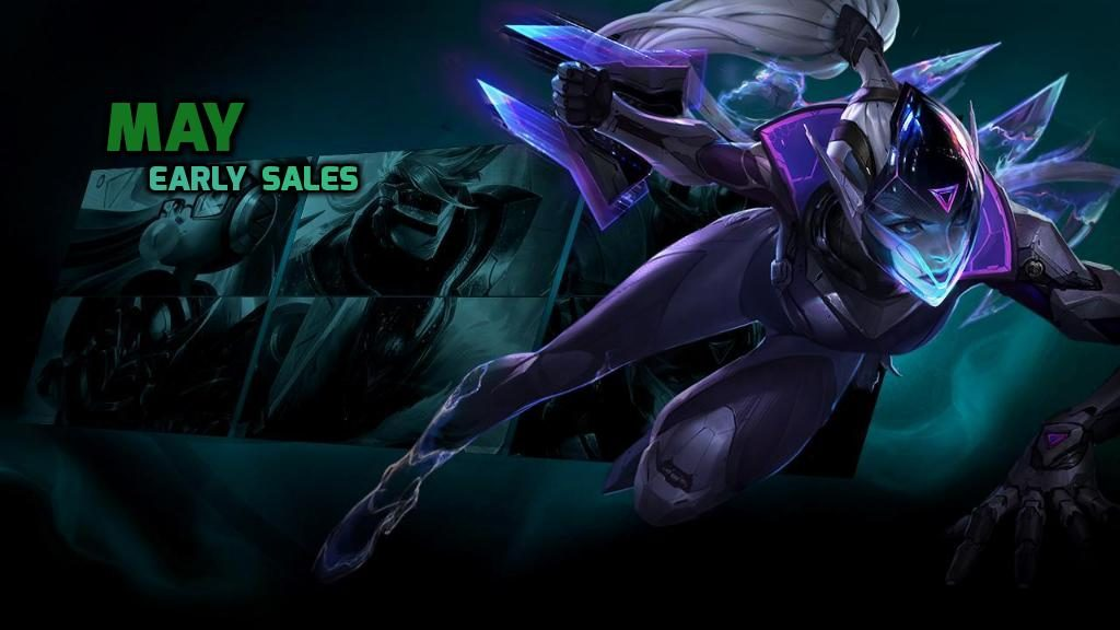 May Early Sales 25.05