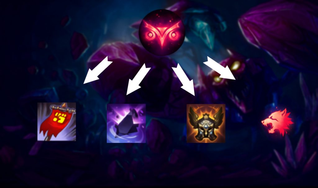 Skarner with New Cheesy Tactic