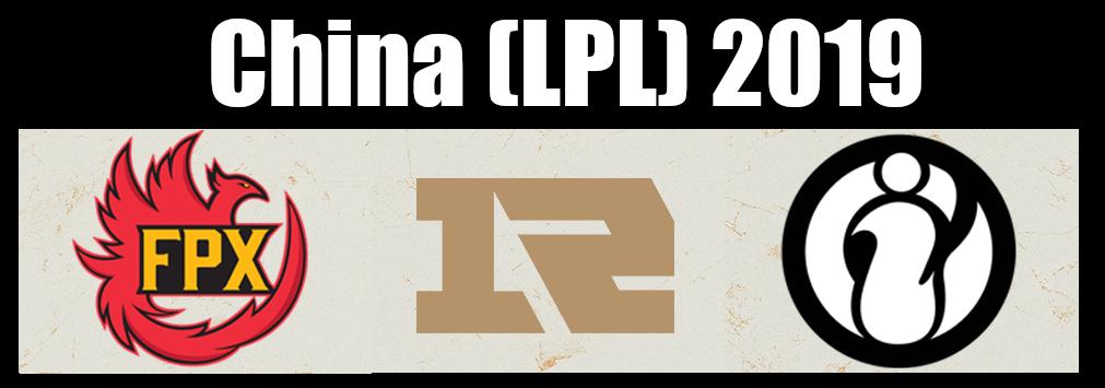 China (LPL) 2019