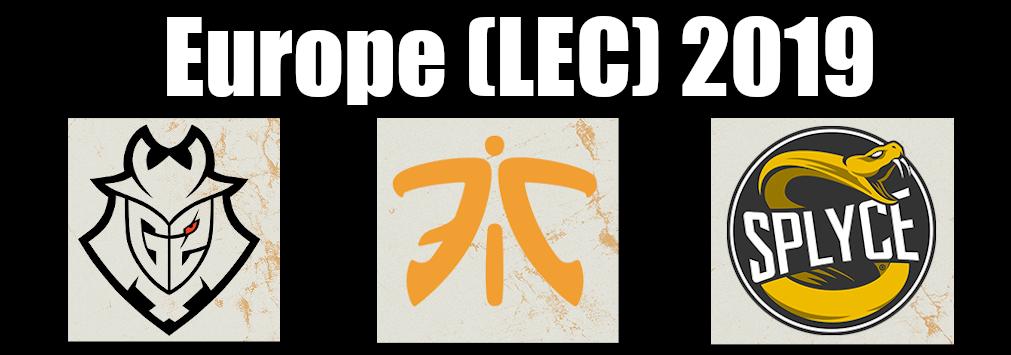 Europe (LEC) 2019