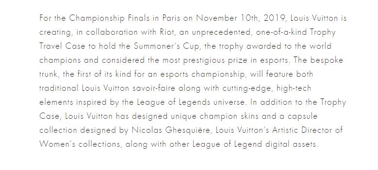 Lous Vuitton Screenshot