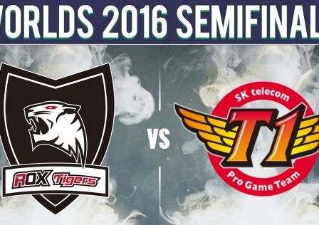 SKT vs Rox 2016 Ashe Arrow