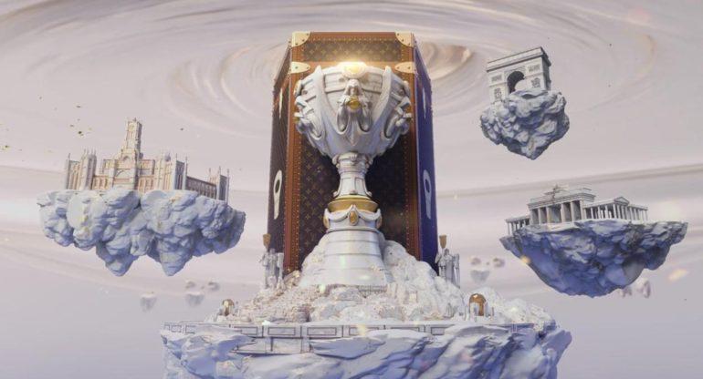 Trophy Louis Vuitton x RiotGames