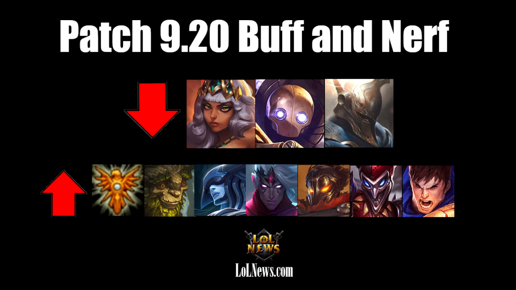 9.20 Buff and Nerf