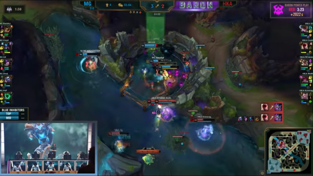Baron stolen by HKA - Worlds 2019