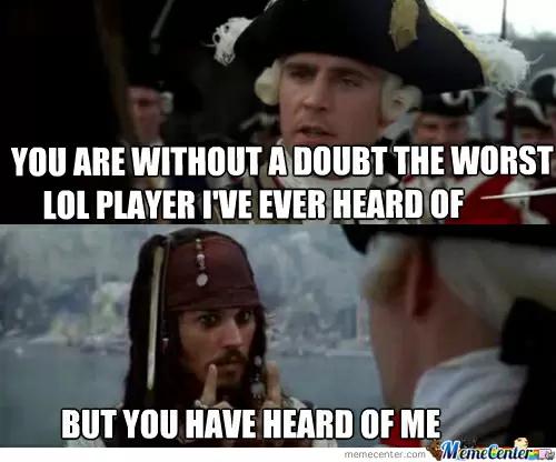 League of Legends Memes - Famous