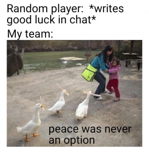 League of Legends Memes – Peace was never an option