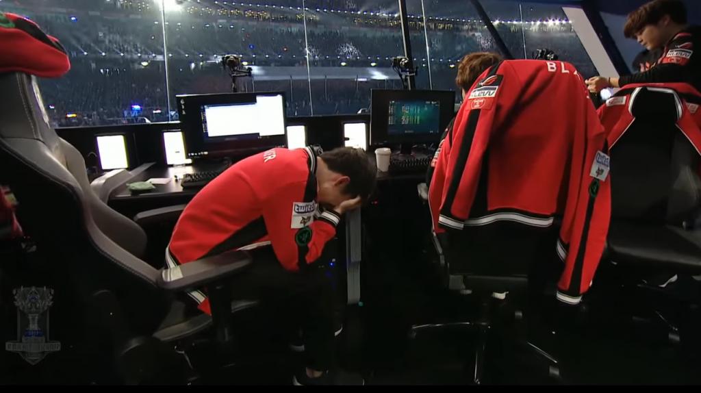 SKT vs SSG Faker Cried