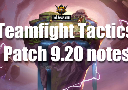 Teamfight Tactics patch 9.20 notes