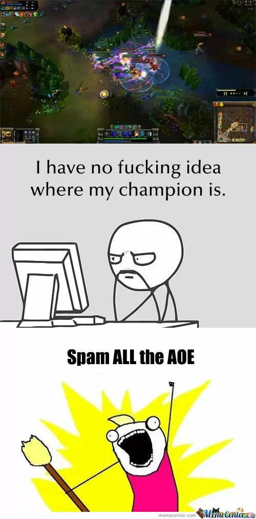 League of Legends Memes - Where am I?