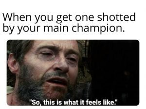 League of Legends Memes – It hurts!