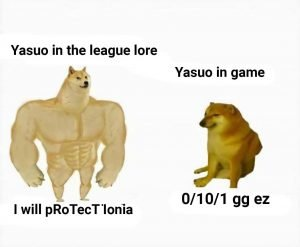 League of Legends Memes – As usual