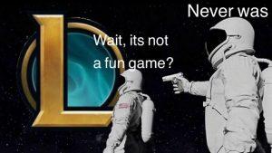 League of Legends Memes – Life-draining game