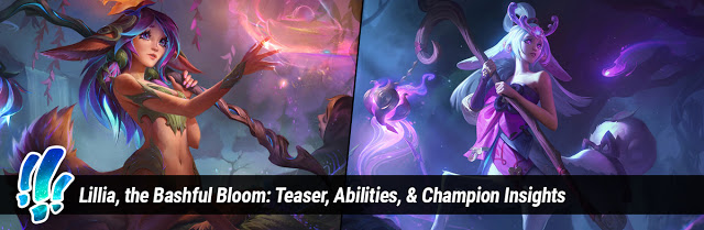 Lillia, The Bashful Bloom, Now Available!