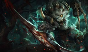 Debate about smurfing rages over viral clip of a Rengar player bullying a Vayne player